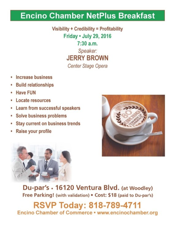 Revised Breakfast Flyer - July '16