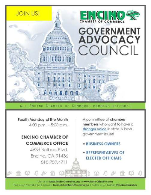 Encino Govt Advocacy Council 2-2017