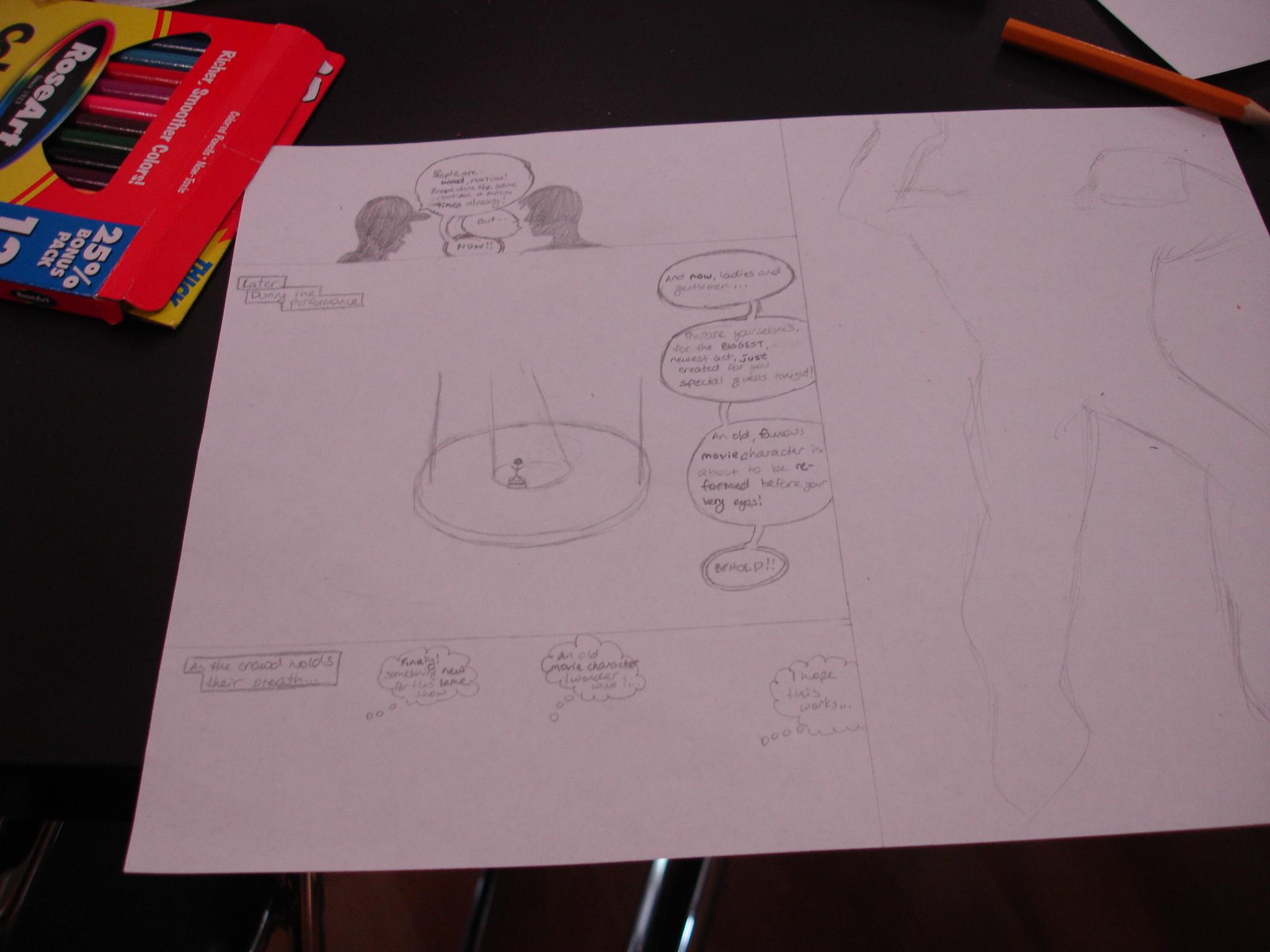 Amanda R-K's comic