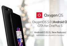Oxygen OS 5.0 para el OnePlus 5