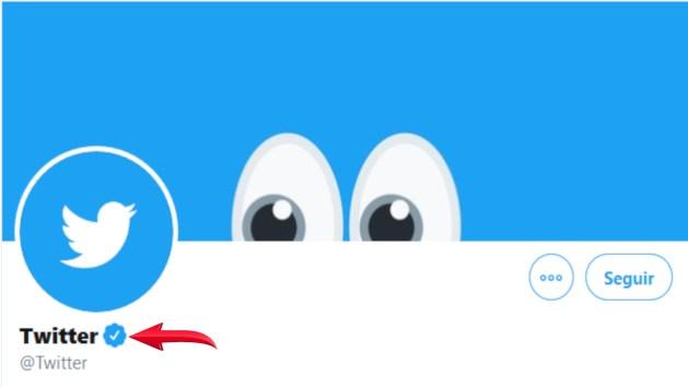 Check azul Twitter