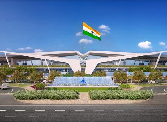 Guwahati Airport Terminal