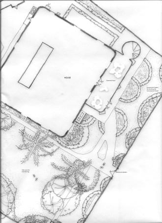Partial garden plan