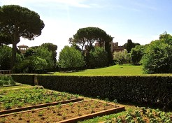 It's part of the Academy's Rome Sustainable Food Project.
