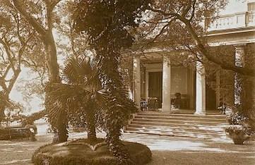Detail, Poincare Residence, Eze, France, ca. 1914, University of Caen Basse-Normandie