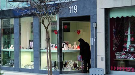 A campaña de San Valentín é unha das actividades de dinamización comercial que ACES-Sarria desenvolve ó longo do ano. EC.