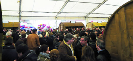 A Feira do Viño de Chantada inicia o calendario de celebracións enolóxicas da Ribeira Sacra. Arquivo EC.
