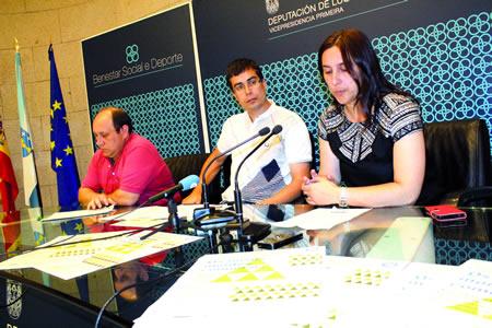 O delegado de Cultura e Turismo da Deputación de Lugo, Mario Outeiro, durante a intervención da enxeñeira de montes Noemí García, que intervirá na xornada técnico-informativa sobre o novo marco lexislativo dos montes comunais de Galicia, o vindeiro 13 de setembro en A Pobra do Brollón. GPVDL.