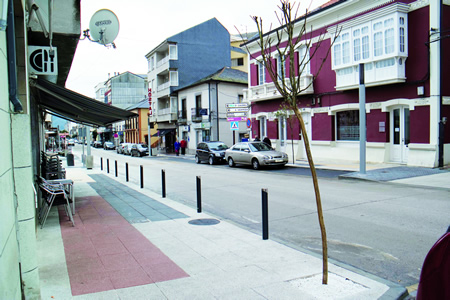 Imaxe da capitalidade municipal de Quiroga. Arquivo EC.