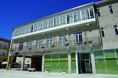 O Edificio Sociocultural de Ferreira concentra diversos servizos públicos, e sirve de espazo para un amplo programa de actividades culturales, lúdicas e sociais ao longo de todo o ano.  Arquivo  EC.