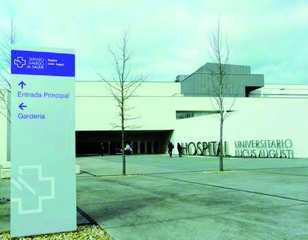 Hospital Universitario Lucus Augusti (HULA). Arquivo EC.