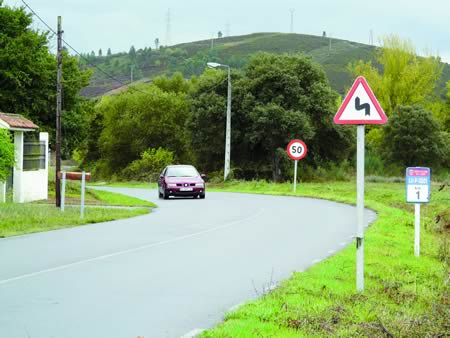 No sur de Lugo, a Deputación realizou tarefas de acondicionamento en máis de 160 quilómetros de estradas provinciais. Arquivo EC.