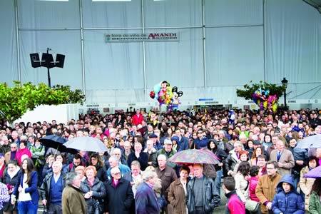 A Feira de Amandi é un dos eventos enolóxicos máis importantes de Galicia. Arquivo EC.
