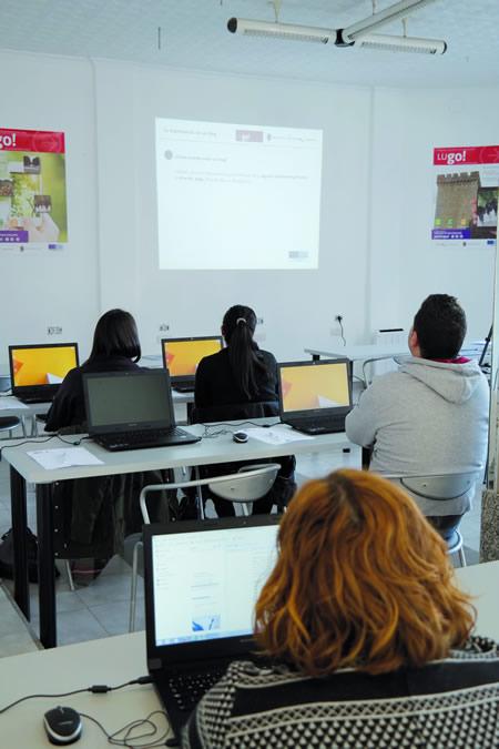 Os cursos no centro TIC de Monforte comezaron o luns 26 de xaneiro. EC