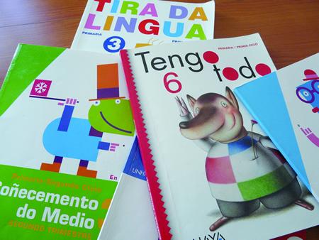 As axudas do Concello de Monforte son para a adquisición de libros de texto e material complementario de Educación Infantil, Primaria e ESO. Arquivo EC.