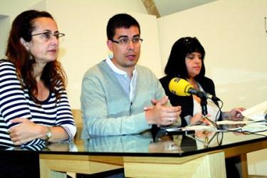 Presentación do programa de verán da Rede Museística Provincial, co delegado de Cultura da Deputación, Mario Outeiro; a xerente da Rede Museística, Encarna Lago; e a directora do Museo de Lugo, Aurelia Balseiro. GPVDL.