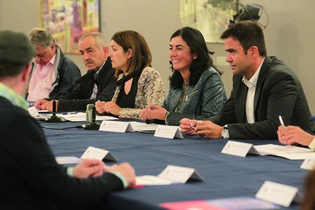 A sinatura dos convenios entre Deputación e concellos tivo lugar na capital provincial o pasado 15 de setembro. GPDL.