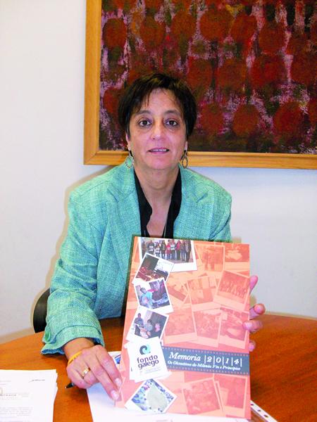 Gloria Prada forma parte da Comisión Executiva do Fondo Galego de Cooperación. GPCM