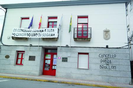 A Pobra do Brollón é un dos Concellos que se negou a pagar  a suba de Sogama. Arquivo EC.