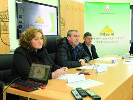 O presidente da Deputación, Darío Campos, na reunión do órgano reitor da Reserva da Biosfera dos Ancares Lucenses e Montes de Cervantes, Navia e Becerreá. GPDL