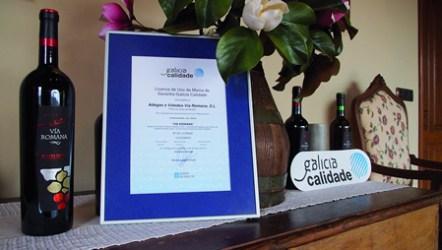 Vía Romana súmase ao grupo das 13 adegas galegas co distintivo Galicia Calidade, sendo a segunda da Denominación Ribeira Sacra que a consigue. (Foto: Kris Pereira's).
