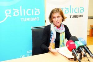 A directora de Turismo de Galicia, Nava Castro, presentou as axudas para mellora de accesos e sinalización turísticas no medio rural, o pasado 26 de febreiro. GPTG.
