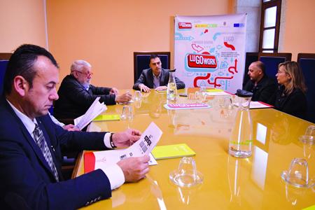 Mesa sectorial coa Asociación Provincial de Reparación e Venda de Automóbiles e Recambios (APREVAR). GPDL.