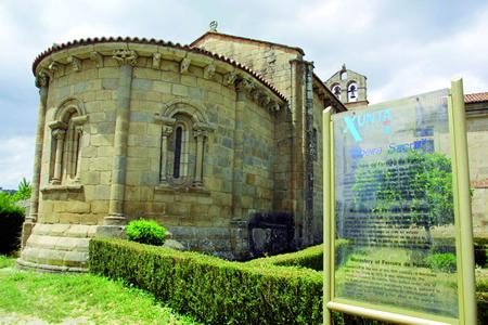 O románico é un dos principais atractivos turísticos do municipio de Pantón. Arquivo EC