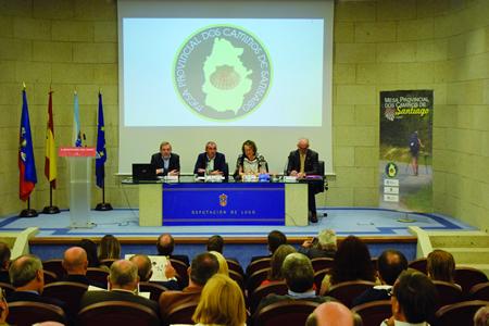 A I Mesa Provincial dos Camiños de Santigo celebrouse en Lugo o 29 de setembro. GPDL.