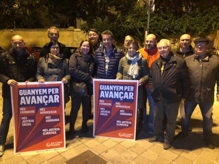 Tret d'inici de la campanya de les eleccions generals: guanyem per avançar