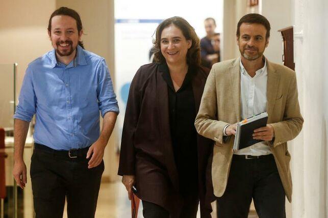 Jaume Asens, líder de los comunes en el Congreso, asume la presidencia del grupo parlamentario de Unidas Podemos