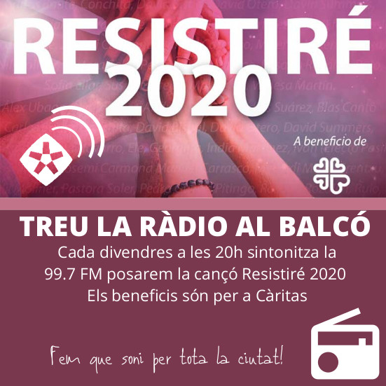 Ràdio Rubí convida a «Treure la ràdio al balcó» per homenatjar al personal sanitari