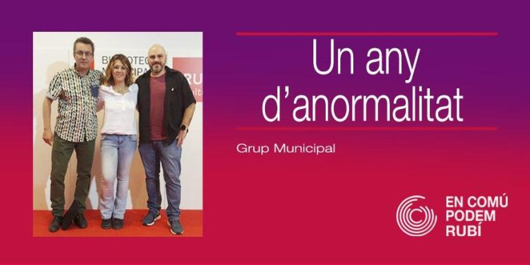 Un any d'anormalitat
