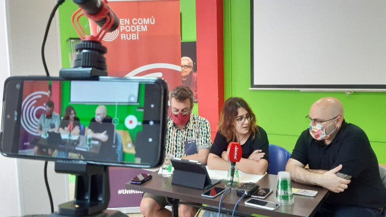 ECP dona part dels sous dels regidors a projectes d'educació i emergència social