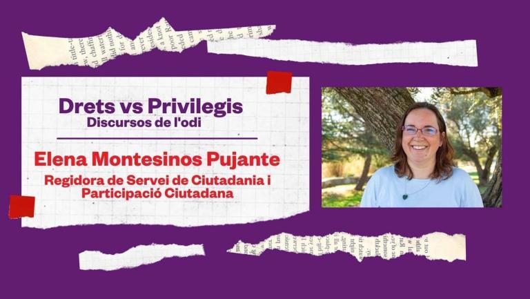 DRETS VERSUS PRIVILEGIS. DISCURSOS DE L'ODI