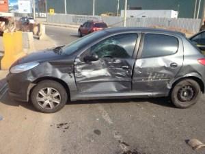 o pior dia da minha vida - porta do carro