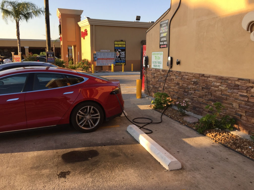 Charging at the casino