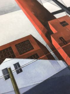 Chimney and Water Tower by Charles Demuth
