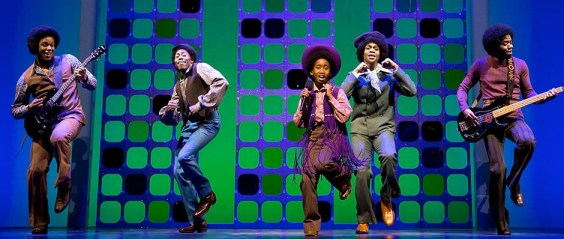 """THE JACKSON 5, as portrayed in """"Motown: The Musical."""""""