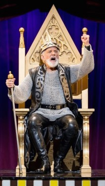 Pippin Setups__268 John Rubinstein as Charlemagne in the National Touring Production of PIPPIN. Credit Terry Shapiro