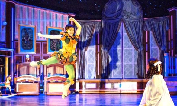 Leslie Bellair at Peter Pan. Photo: Atlanta Lyric Theatre