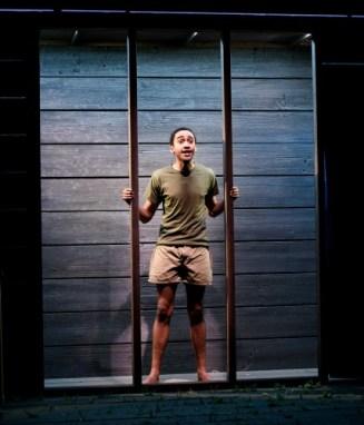 Stephen Ruffin as Bowzie. Photo: Greg Mooney