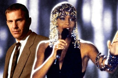 Kevin Costner and Whitney Houston in the 2002 feature film. Photo: Warner Bros.