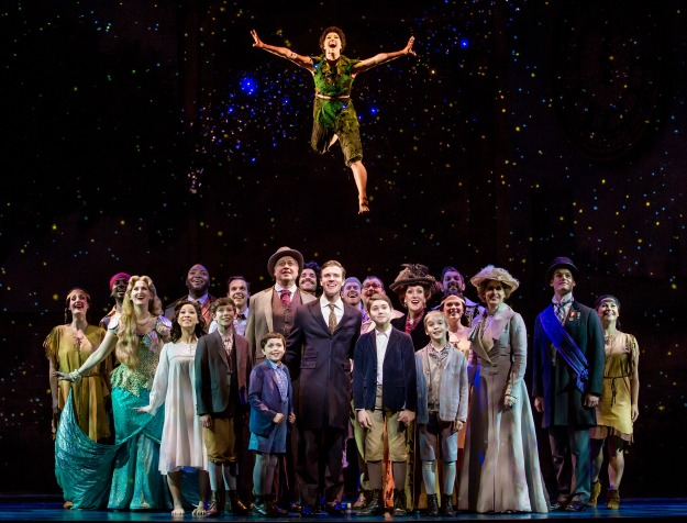 """The national touring company of """"Finding Neverland."""""""