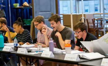Becoming Nancy Table Read