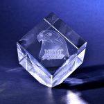 3-D crystal awards