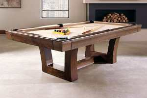 City Pool Table room setting