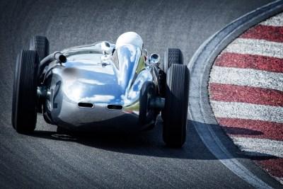 race car curve