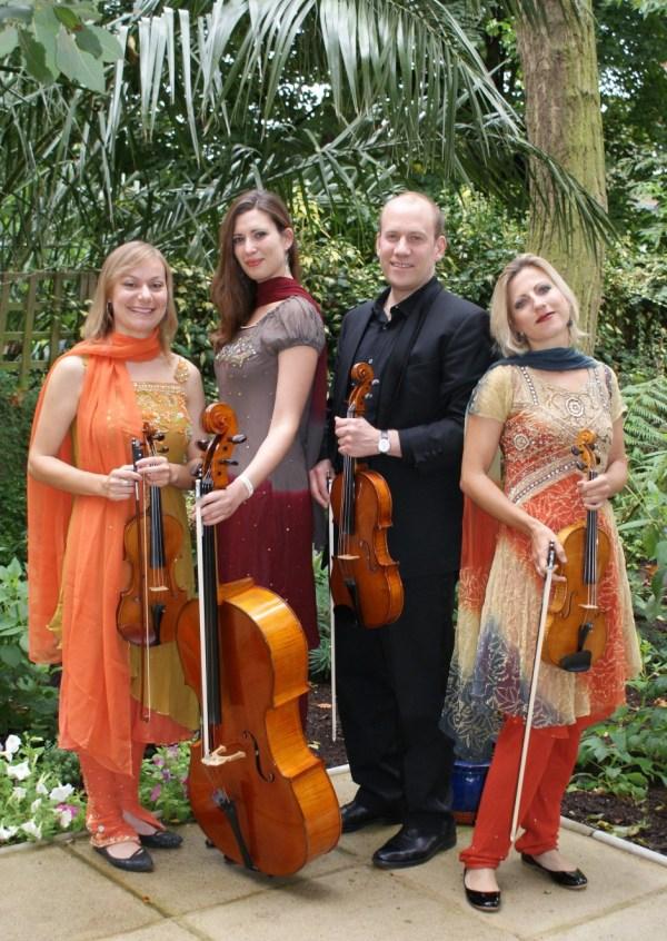 Crystal Palace String Quartet, Bollywood wedding attire