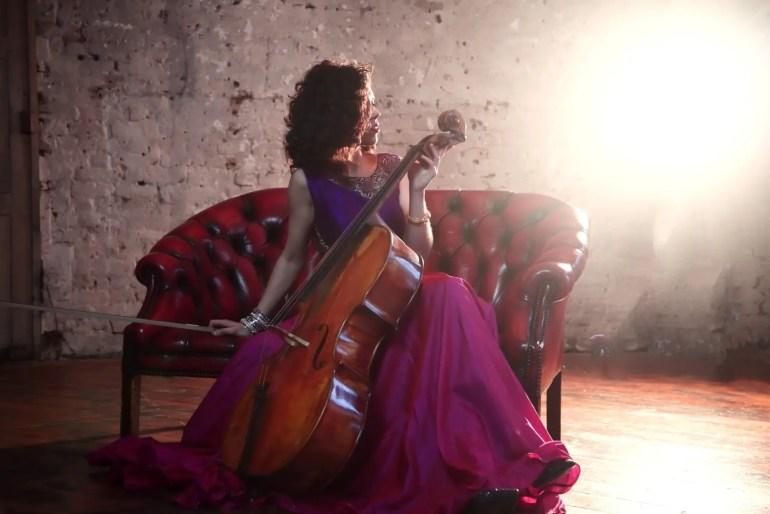 Cellist Lidia Alonso